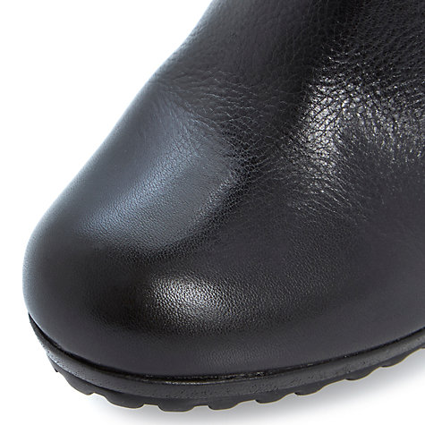 Buy Dune Pug Leather Ankle Boots Online at johnlewis.com