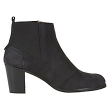 Buy NW3 by Hobbs Dylan Suede Ankle Boots, Black Online at johnlewis.com