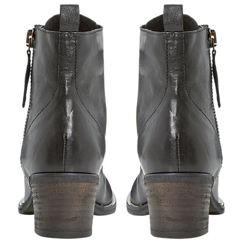 Buy Dune Percy Leather Mid Heel Chelsea Ankle Boots Online at johnlewis.com