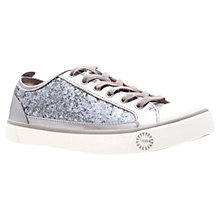 Buy UGG Evera Glitter Trainers, Metallics Online at johnlewis.com