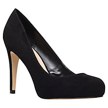 Buy Carvela Kerry Court Shoes, Black Online at johnlewis.com