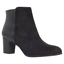 Buy Carvela Spot Ankle Boots, Black Online at johnlewis.com
