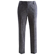 Buy Joules Audrey Printed Capri Trousers, Navy Snake Online at johnlewis.com