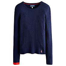 Buy Joules Hayle Cable Knit Jumper Online at johnlewis.com