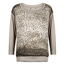 Buy Sandwich Printed Tee, Grey Marble Online at johnlewis.com