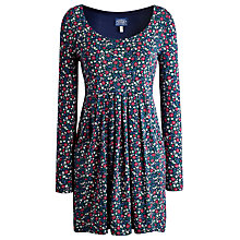 Buy Joules Alexi Floral Tunic Dress, French Navy Ditsy Online at johnlewis.com