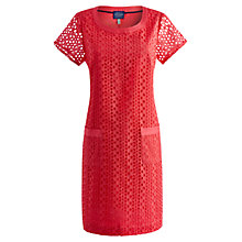 Buy Joules Madeline Dress, Bright Pink Online at johnlewis.com