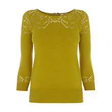 Buy Oasis Pointelle Detail Jumper Online at johnlewis.com