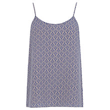 Buy Oasis Geotastic Formal Camisole Top, Blue Multi Online at johnlewis.com