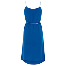 Buy Oasis Clara Dress, Mid Blue Online at johnlewis.com
