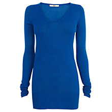 Buy Oasis Melissa Knit Jumper, Rich Blue Online at johnlewis.com