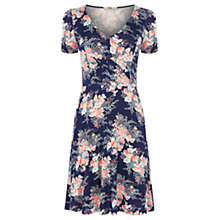 Buy Oasis Parasol Print Tea Dress, Blue Online at johnlewis.com