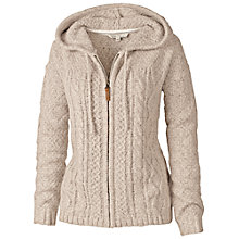 Buy Fat Face Amelia Cable Zip Thru Hoodie Online at johnlewis.com