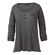 Buy Fat Face Henley T-Shirt, Phantom Online at johnlewis.com