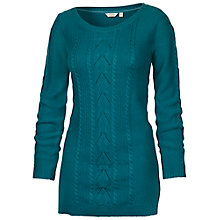 Buy Fat Face Cable Tunic Top Online at johnlewis.com
