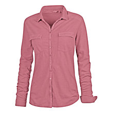 Buy Fat Face Jersey Shirt, Dusty Rose Online at johnlewis.com
