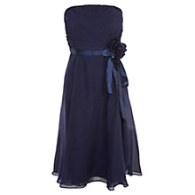 Buy Coast Allure Short Dress, Navy Online at johnlewis.com