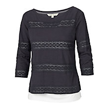 Buy Fat Face Lace 2 in 1 T-Shirt Online at johnlewis.com