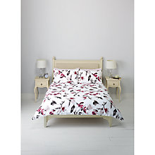 Buy John Lewis Shari Floral Sateen Duvet Cover and Pillowcase Set Online at johnlewis.com