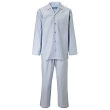 Buy John Lewis End on End Striped Cotton Pyjamas Online at johnlewis.com