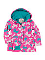 Hatley Girls' Classic Butterfly Raincoat, Pink