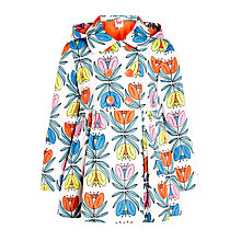 Buy John Lewis Girl Floral Print Raincoat, Multi Online at johnlewis.com