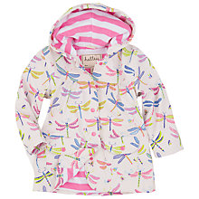 Buy Hatley Girls' Classic Dragonflies Raincoat, White Online at johnlewis.com