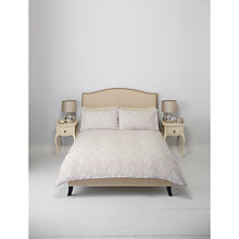 Buy John Lewis English Damask Jacquard Duvet Cover and Pillowcase Set, Cassis Online at johnlewis.com