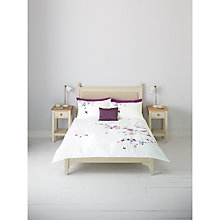 Buy John Lewis Eden Embroidered Duvet Cover and Pillowcase Set, Multi Online at johnlewis.com