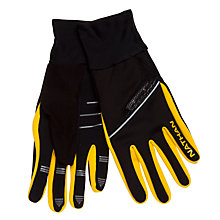 Buy Nathan Speedshift Lightwave LED Tech Gloves, Black/Yellow Online at johnlewis.com