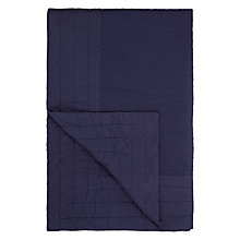 Buy John Lewis Isana Embroidered Bedspread, Indigo Online at johnlewis.com