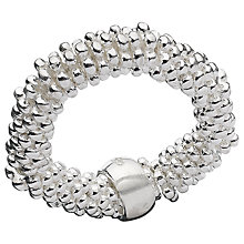 Buy Links Of London Effervescence XS Ring, Silver Online at johnlewis.com