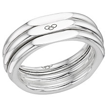 Buy Links Of London 20/20 Classic Ring, Silver Online at johnlewis.com