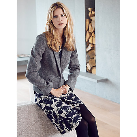 Buy Phase Eight Saffron Riding Jacket, Grey Online at johnlewis.com