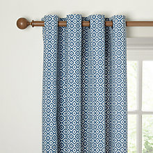 Buy John Lewis Nazca Lined Eyelet Curtains Online at johnlewis.com