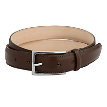 Buy Thomas Pink Grafton Leather Belt, Brown Online at johnlewis.com