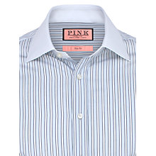 Buy Thomas Pink Eastbury Stripe Shirt, White/Blue Online at johnlewis.com