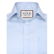 Buy Thomas Pink Robin Plain Slim Fit Shirt, Pale Blue Online at johnlewis.com