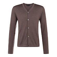 Buy Aquascutum Lawrence Cardigan, Brown Online at johnlewis.com