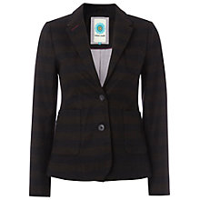 Buy White Stuff Caspian Stripe Blazer, Brown Pape Online at johnlewis.com