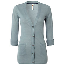 Buy White Stuff Tree Top Cardigan, Blue Mist Online at johnlewis.com