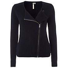 Buy White Stuff Signature Knit Jacket, French Navy Online at johnlewis.com
