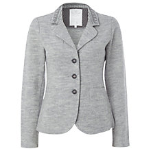 Buy White Stuff Boiled Wool Blazer, Greyhound Online at johnlewis.com