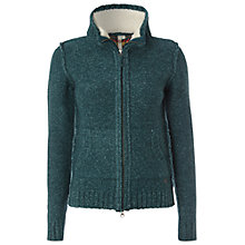 Buy White Stuff Pasquet Knit Jacket, Privet Green Online at johnlewis.com