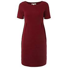 Buy White Stuff Suzanne Textured Dress, Red Ink Online at johnlewis.com