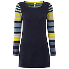 Buy White Stuff Island Tunic Dress, Navy Online at johnlewis.com