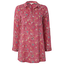 Buy White Stuff Tweedle-Dee Tunic Dress, Snapdragon Online at johnlewis.com