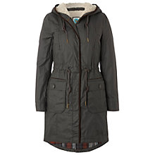Buy White Stuff City Scape Parka, Dark Privet Online at johnlewis.com