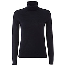 Buy White Stuff Biro Now Wool Jumper, French Navy Online at johnlewis.com