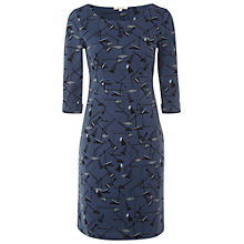 Buy White Stuff Italic Dress, Blue Biro Online at johnlewis.com